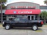 2007 Black Chevrolet Silverado 1500 LT Z71 Crew Cab 4x4 #36063445