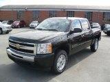 2010 Black Chevrolet Silverado 1500 LT Crew Cab #36064577