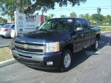 2011 Imperial Blue Metallic Chevrolet Silverado 1500 LT Extended Cab #36063457