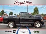 2005 Black Dodge Ram 1500 SLT Regular Cab 4x4 #36062915
