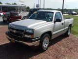 2006 Silver Birch Metallic Chevrolet Silverado 1500 LS Regular Cab #36064583