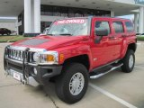 2009 Victory Red Hummer H3  #36064034