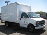2001 Chevrolet Express Cutaway 3500 Commercial Moving Truck Data, Info and Specs