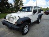 2008 Jeep Wrangler Stone White