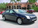 2008 Dark Blue Ink Metallic Ford Fusion S #36063498