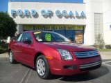 2008 Redfire Metallic Ford Fusion S #3592166