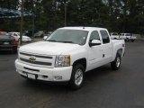 2011 Summit White Chevrolet Silverado 1500 LT Crew Cab 4x4 #36064625
