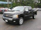2011 Black Chevrolet Silverado 1500 LT Crew Cab #36064626