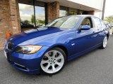 2007 Montego Blue Metallic BMW 3 Series 335i Sedan #36063519