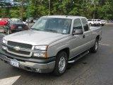2004 Silver Birch Metallic Chevrolet Silverado 1500 LS Extended Cab #36064631