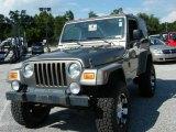 2006 Light Khaki Metallic Jeep Wrangler Sport 4x4 #36063534