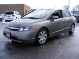 2006 Galaxy Gray Metallic Honda Civic LX Sedan #3595497