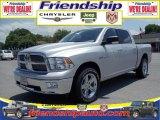 2010 Bright Silver Metallic Dodge Ram 1500 Big Horn Crew Cab 4x4 #36063048