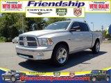 2010 Bright Silver Metallic Dodge Ram 1500 Big Horn Crew Cab 4x4 #36063049