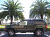 1995 Jeep Grand Cherokee Moss Green Pearl