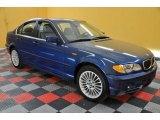 2002 Topaz Blue Metallic BMW 3 Series 330xi Sedan #36064179