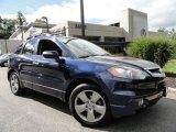 2008 Royal Blue Pearl Acura RDX Technology #36063592