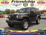 2010 Black Jeep Wrangler Rubicon 4x4 #36063185