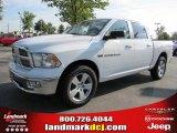 2011 Bright White Dodge Ram 1500 Big Horn Crew Cab #36063628