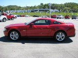 2011 Red Candy Metallic Ford Mustang GT Premium Coupe #36063202