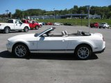 2011 Performance White Ford Mustang V6 Premium Convertible #36063204