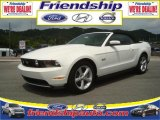 2011 Performance White Ford Mustang GT Premium Convertible #36063206