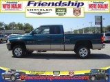 1999 Emerald Green Pearl Dodge Ram 1500 SLT Extended Cab 4x4 #36063221