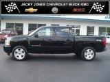 2007 Black Chevrolet Silverado 1500 LTZ Crew Cab 4x4 #36064243