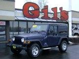 2006 Midnight Blue Pearl Jeep Wrangler Sport 4x4 Right Hand Drive #3571895