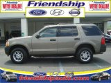 2003 Mineral Grey Metallic Ford Explorer XLS 4x4 #36063288