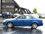 2008 Ocean Blue Pearl Effect Audi A4 2.0T quattro Sedan #36064282
