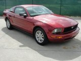 2007 Redfire Metallic Ford Mustang V6 Deluxe Coupe #36063770