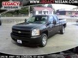 2008 Dark Blue Metallic Chevrolet Silverado 1500 Work Truck Extended Cab #36193018
