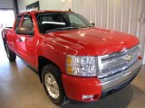 2008 Victory Red Chevrolet Silverado 1500 LT Extended Cab 4x4 #36193740