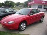 2001 Bright Red Ford Escort ZX2 Coupe #36064667