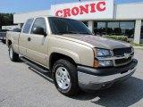 2005 Sandstone Metallic Chevrolet Silverado 1500 LS Extended Cab 4x4 #36193377