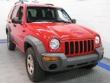 2002 Flame Red Jeep Liberty Sport 4x4 #36193785