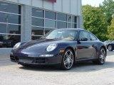 2008 Midnight Blue Metallic Porsche 911 Carrera Coupe #27762
