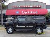 2003 Black Hummer H2 SUV #36193119
