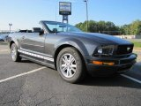 2007 Alloy Metallic Ford Mustang V6 Deluxe Convertible #36193432