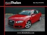 2008 Brilliant Red Audi A4 2.0T quattro Sedan #36064801
