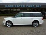 2010 White Platinum Tri-Coat Metallic Ford Flex Limited AWD #36193519