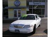 2004 Vibrant White Lincoln Town Car Executive #3591426