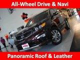 2011 Dark Cherry Kia Sorento SX V6 AWD #36193207