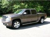 2008 Desert Brown Metallic Chevrolet Silverado 1500 LTZ Crew Cab 4x4 #36193883