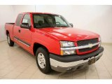 2004 Victory Red Chevrolet Silverado 1500 LS Extended Cab #36193886