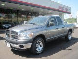 2008 Mineral Gray Metallic Dodge Ram 1500 SXT Quad Cab #36193549
