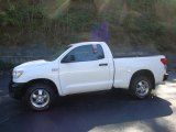 2007 Super White Toyota Tundra Regular Cab 4x4 #36064835
