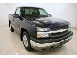 2005 Dark Blue Metallic Chevrolet Silverado 1500 LS Regular Cab #36193941