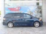 2011 South Pacific Blue Pearl Toyota Sienna SE #36064867